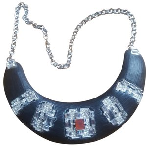 Alexis Bittar Handcarved Lucite Necklace