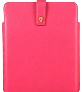 Alexander McQueen HOT PINK IPAD CASE