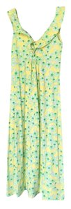 green & yellow Maxi Dress by Lilly Pulitzer Maxi Coral Me Crazy