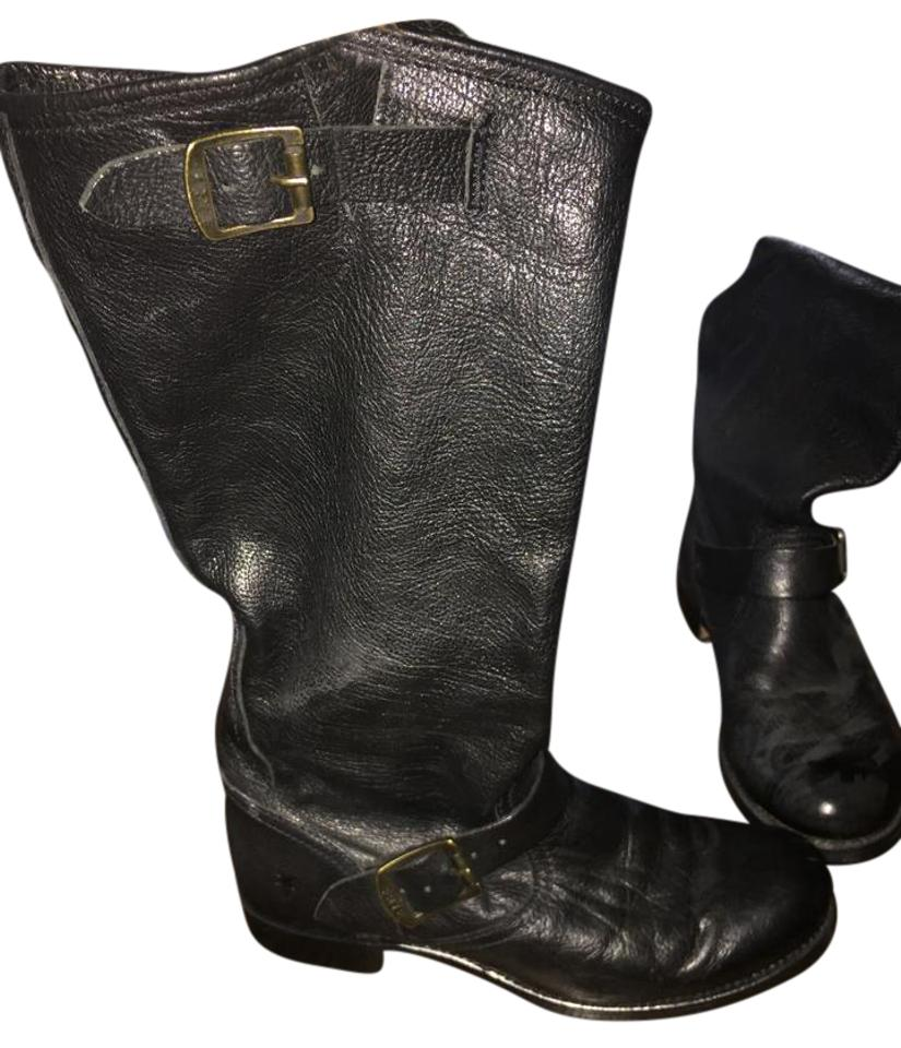WOMENS Boots/Booties Frye Black Veronica Slouch Boots/Booties WOMENS Bright colors b4582d