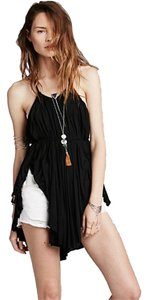 Free People Strappy Top Black