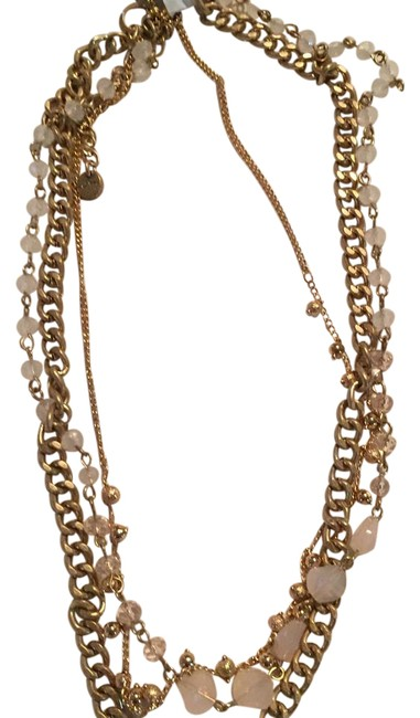 Item - Gold/Stone Layered Necklace