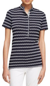 Tory Burch Top Blue, White