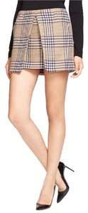 Rachel Zoe Plaid Preppy Skirt Multi