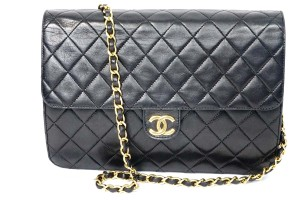Chanel Leather Purse Shoulder Bag