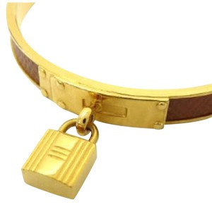 Hermès Kelly Cadena Leather Bangle