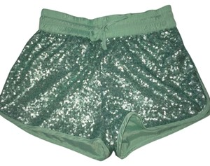 Mustard Seed Sequin Shorts Mint/Aqua