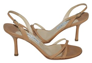 Jimmy Choo Nude BEIGE Sandals