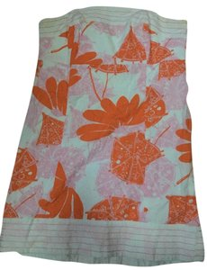 Lilly Pulitzer short dress White pink and orange on Tradesy