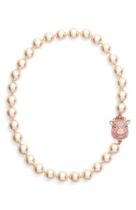 Kate Spade Kate Spade wild imagination pig charm imitation pearl necklace