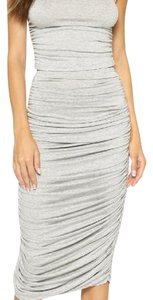 Grey Maxi Dress by Norma Kamali