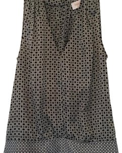 Laundry by Shelli Segal Top Black and white