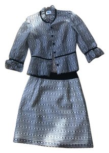 MILLY Milly lace skirt suit