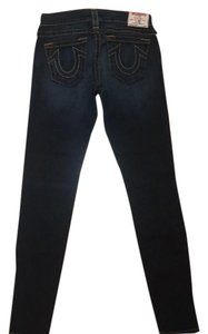 True Religion Skinny Jeans-Dark Rinse