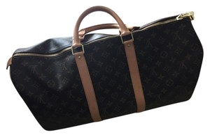 Louis Vuitton Keepall 50 Lv Keepall 50 50 Monogram Travel Bag