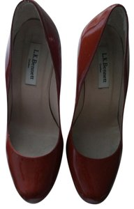 L.K. Bennett Orange brown Pumps