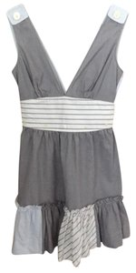 Free People short dress Railroad Stripe Blue on Tradesy