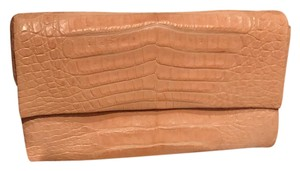 Nancy Gonzalez beige Clutch