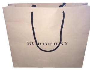 Burberry Tote in Tan Shopping Bag