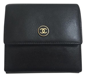 Chanel ***Sale***- Chanel Black BiFold Wallet