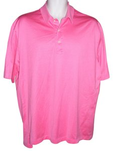 Brooks Brothers Polo Country Club Dusty Short Sleeve Career Button Down Shirt Pink