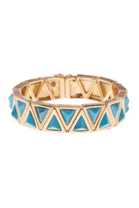 House of Harlow 1960 House of Harlow 1960 Aura Tennis Bracelet Turquoise