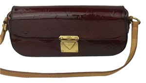 Louis Vuitton burgundy Clutch
