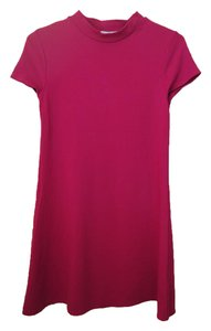 Leith short dress Red Cerise Simple Stylish A-line on Tradesy