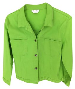Other Cotton Lime green Jacket