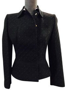 Valentino Sizer 2 Black and Pink Blazer