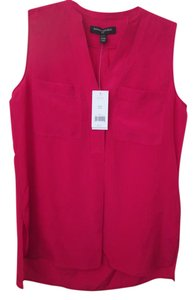 Banana Republic Silk Top Fushia