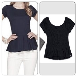 Abercrombie & Fitch Top Navy
