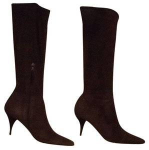 Prada chocolate brown Boots