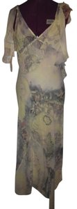 Lolita Lempicka Georgette Feminine Long Elegant Sexy Sophisticated Chic Dress