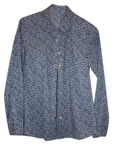 J.Crew Liberty Glenjade Top blue