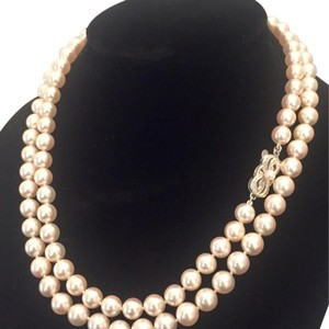 Mikimoto ESTATE Mikimoto 7-6.5 mm 31 in 18 KT Gold #16007