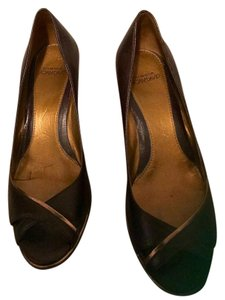 Circa Joan & David Brown/Mahogany Wedges