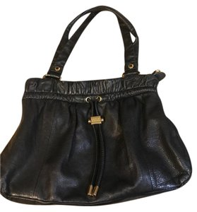 Badgley Mischka Totes Leather Evening Gold Shoulder Bag