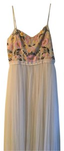 Chalk Maxi Dress by Needle & Thread Embroidered Floral Beaded