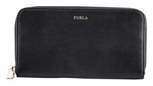 Furla * Furla Babylon Leather Zip-Around Wallet