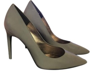Jeffrey Campbell Grey Reflective Pumps