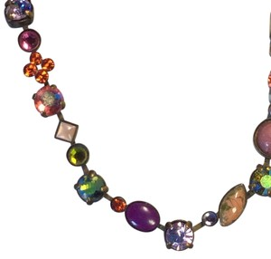 Other Art Deco Crystal Statement Necklace