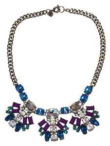 J.Crew Rhinestone statement necklace