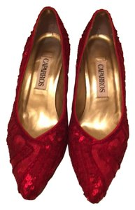 Caparros Red Sequin Formal