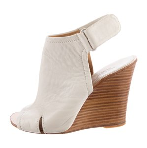 Rag & Bone white Wedges