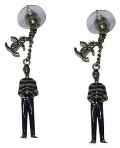 Chanel Authentic Mademoiselle Coco Chanel earrings