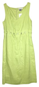 Jillian Jones short dress Lime green on Tradesy