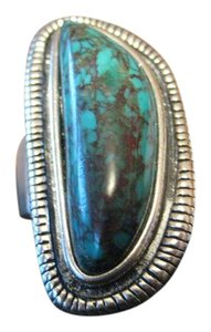 Silpada Sterling Silver 925 Turquoise Ring GORGEOUS Size 6