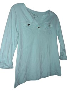 Charter Club Comfortable Soft T Shirt Turquoise