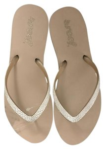 Reef Tan White Taupe/ White Sandals